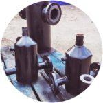 Абонентский грязевик системы отопления